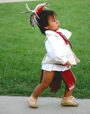 Cherokee Indian Boy