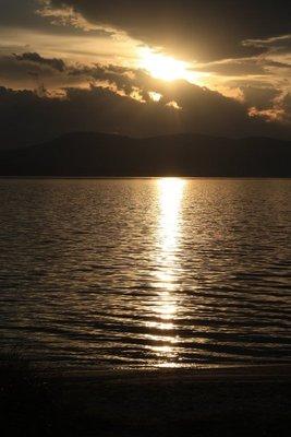 Sunset Bruny Island