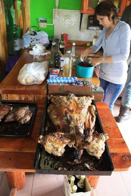 spring lamb for christmas dinner is a must.