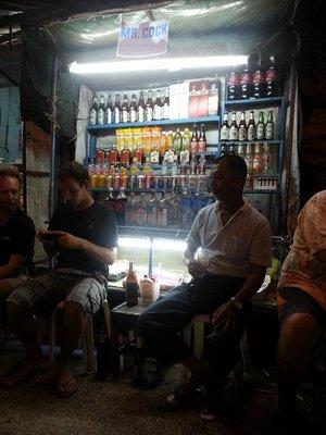 Mr Cock's street bar