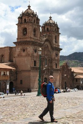Tha main man in Cusco's main square
