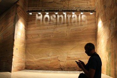 Bit.Fall at MONA Museum