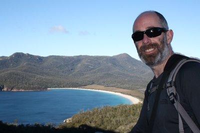 Poser at Wineglass Bay