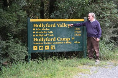 The man from Hollyford