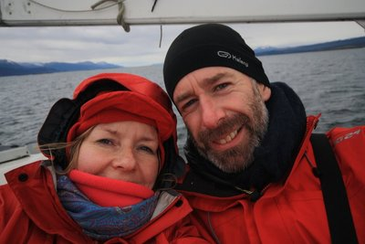 Sailing along the Beagle Channel
