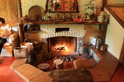 a homely fire
