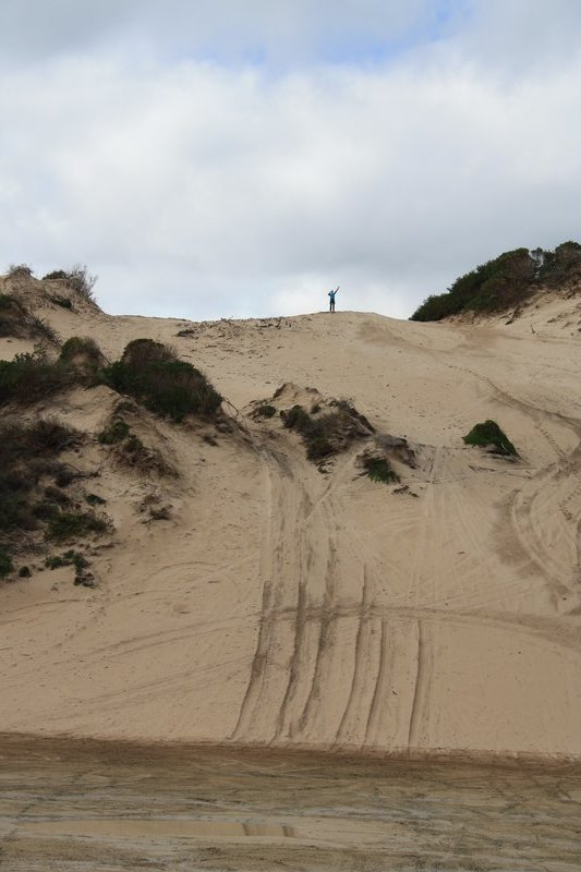 Such a small sand dune!!!!