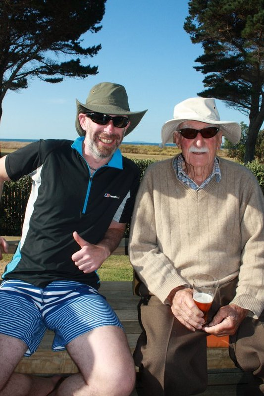 Not looking bad for a 95yr old and Jack looks well too!