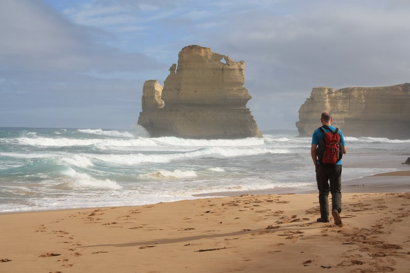 Beach at 12 Apostles