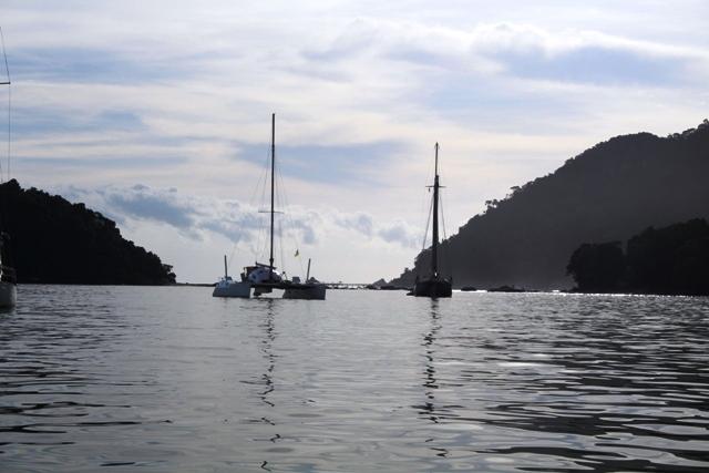 Brian's catamaran