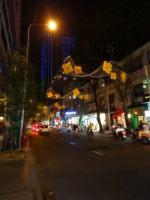 Pre-Tet street scene