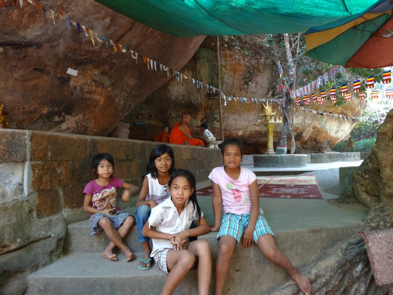 Wat Preah Ang Thom at Phnom Kulen