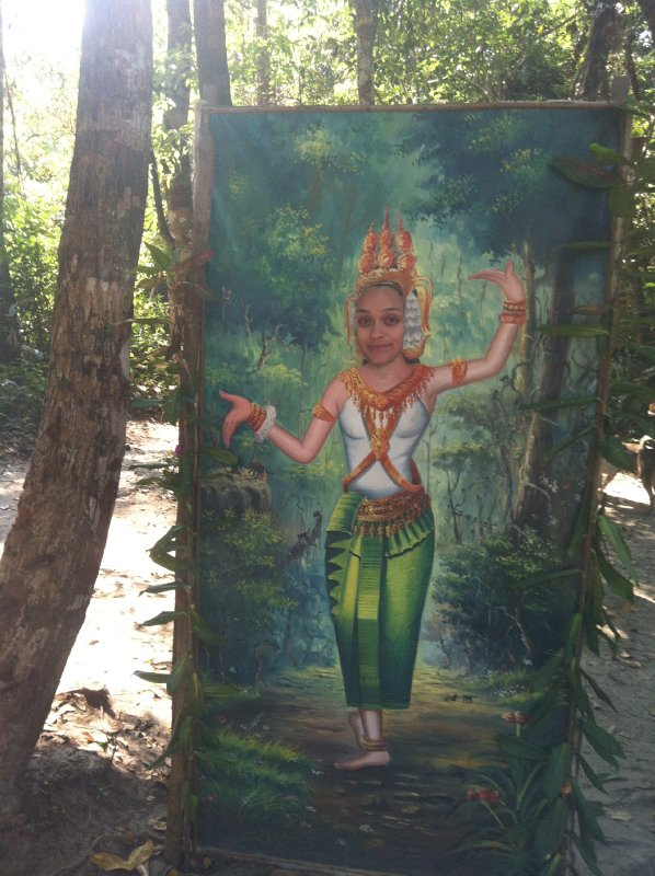 Apsara of the forest