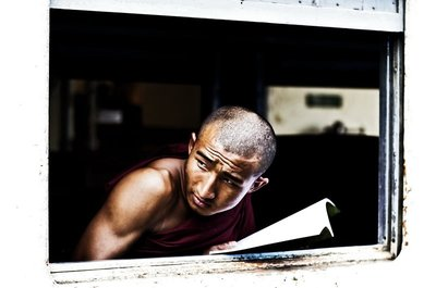Reading Monk