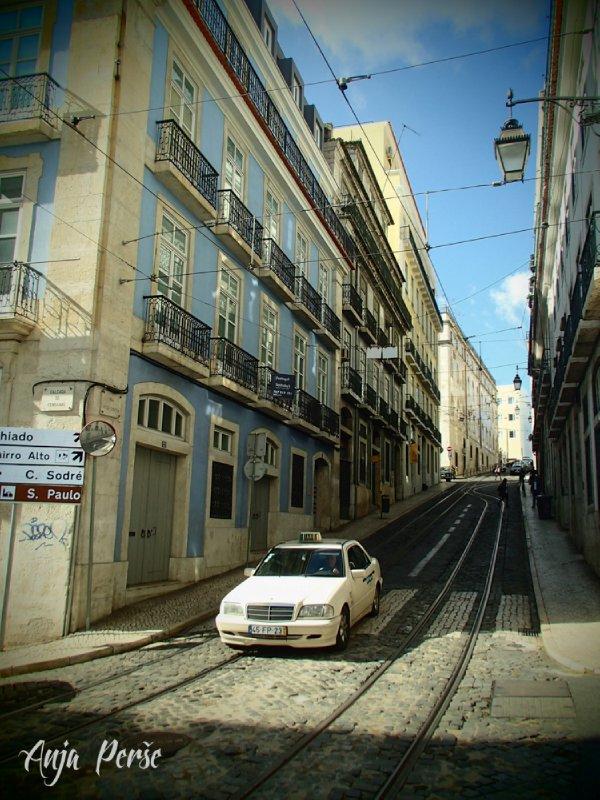 Taxi in Lisbon