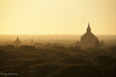 Sunrise at Bagan
