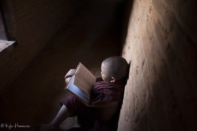 A Monk and His Book