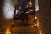 Buddhist Texts by Candlelight