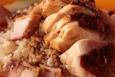 Traditional Chicken Rice