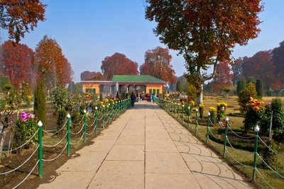Shalimar - one of the mughal gardens in srinagar