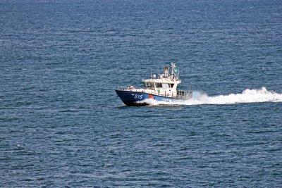 Boat in Black Sea