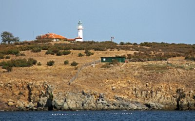 St Ivan Island Lighthouse