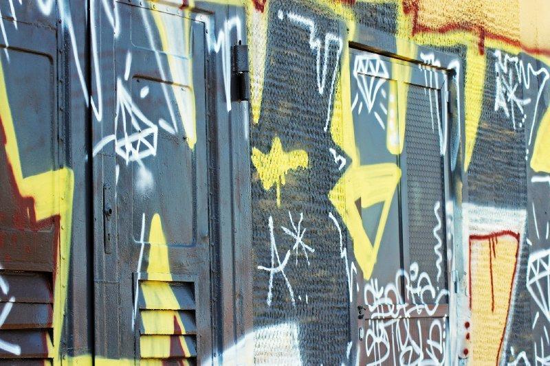 Graffiti in Sozopol