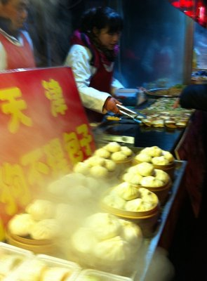 Steamed Pork Buns, Beijing, China