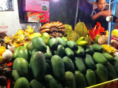 Mangoes for sale, Xiamen China