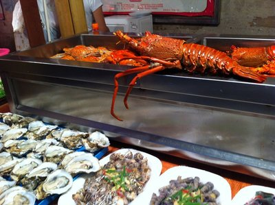 Lobster stall, Xiamen, China