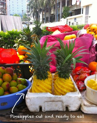 Fruit stall, Xiamen, China