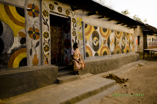 TRIBAL WALLPAINTING#3