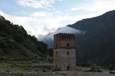Sumugala in Gakh region, Azerbaijan