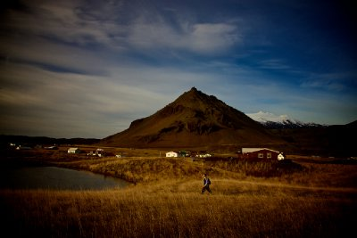 Autumn Day in Arnarstapi, Iceland