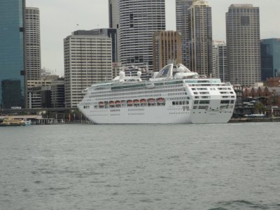 Dawn Princess -Sydney Australia, October 2011