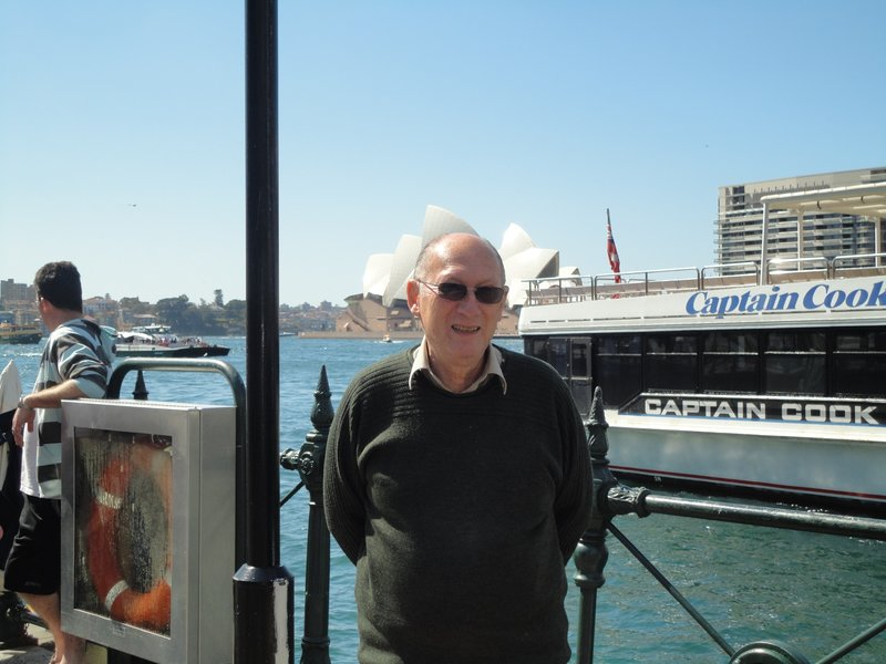 Rob (1st day Sydney Australia ) September 2011