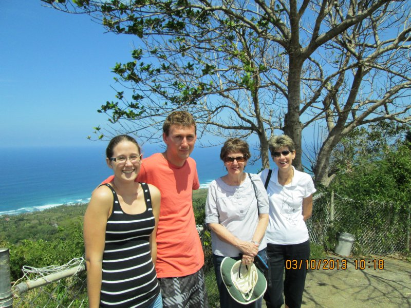 Family-  Hackleton's Cliff Barbados