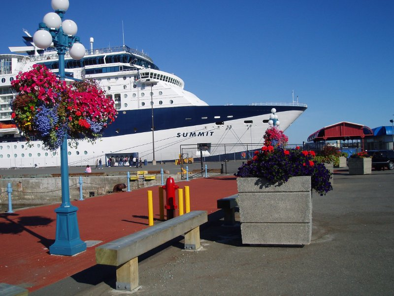 Celebrity Summit  Ogden Point BC 2005
