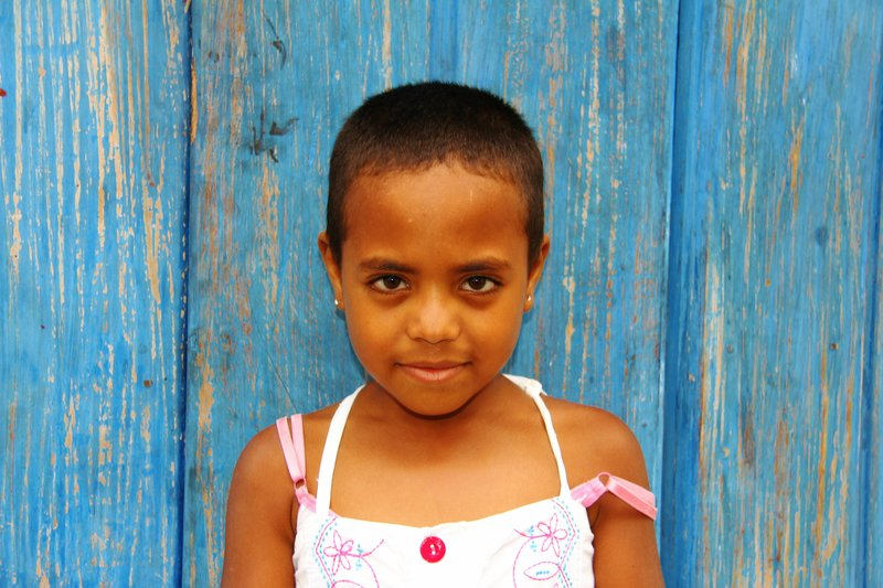 A Sweet Little Colombian Girl