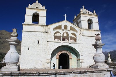 Church, Colca Canyon, Peru, Dec 2013