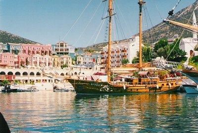 Kalkan, Turkey, Aug 96