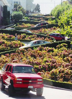 Lombard St, San Francisco, Aug 00