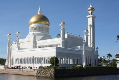 Mosque, Bander Seri Bagawan, Brunei Dec 2012