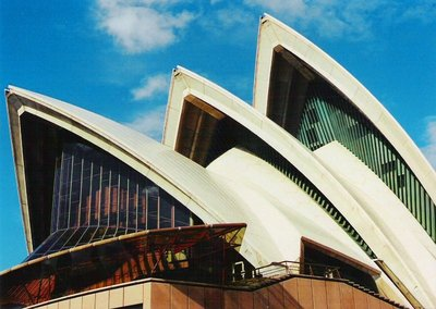 Sydney Opera House, NSW, Aus, Aug 00