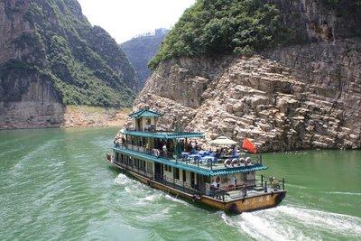 Three Gorges, China, July 2014