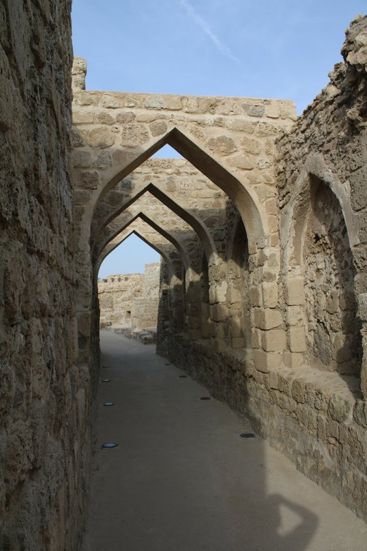 Bahrain Fort Arches
