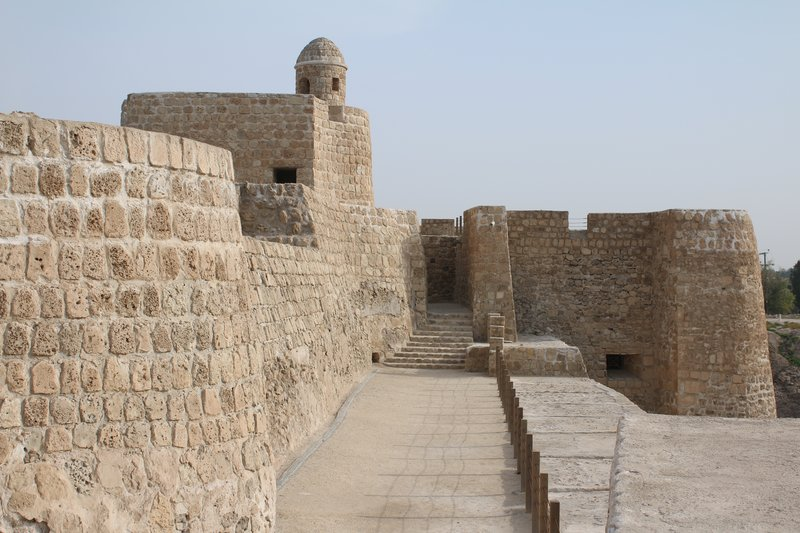 Bahrain Fort walls