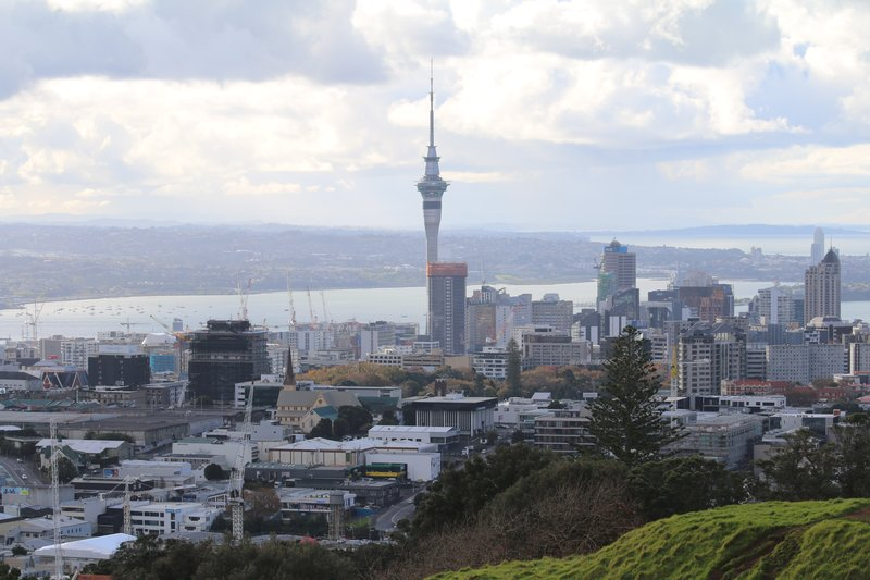 Sky Tower and the Auckland CBD
