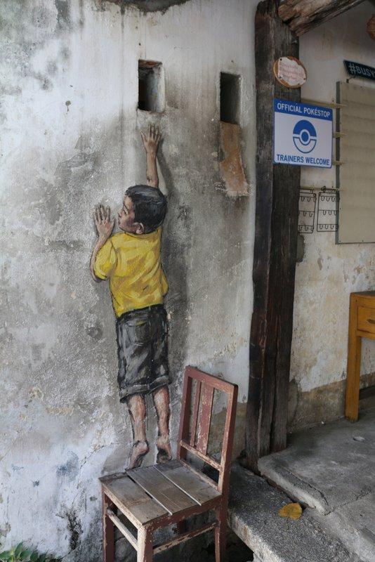 Street Art Boy