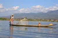 Fisherman, Lake Inle, Myanmar, January 2012